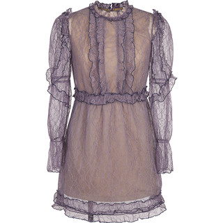d'zzit 3F3O6317Y 女士连衣裙 (M、紫色)
