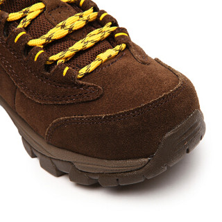 探路者(TOREAD)徒步鞋 男女士防滑耐磨登山鞋 秋冬季防泼水户外鞋 TFAA92055 野牛棕/棕黄(女)36码