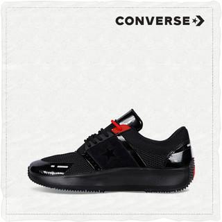 CONVERSE匡威官方 Converse x Y2K Run Star 163048C (40.5、黑色)