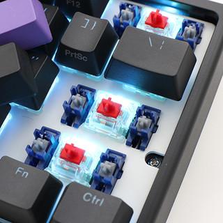 Akko 艾酷 Ducky One 2 Mini RGB 机械键盘 (Cherry 青轴、奥利奥、RGB灯光、Type-C、61键)