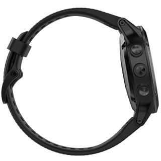 GARMIN 佳明 fenix 5 多功能心率腕表 蓝宝石镜面DLC镀膜版