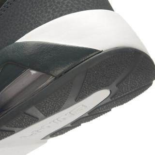 李宁官方旗舰店Bubble Ace男子跑步鞋半掌气垫复古经典运动鞋ARCL039 黑/檀黑色/凝雪灰 42