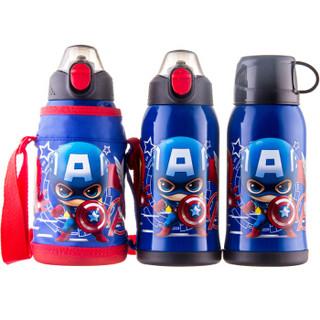 Disney 迪士尼 双盖儿童保温杯