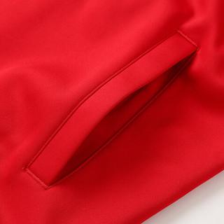 李宁卫衣男士2018春秋棒球服防风保暖运动休闲服运动上衣AWDL943 (3XL、红色)