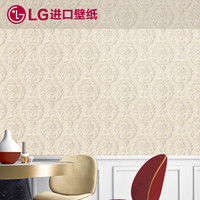 LG 奶茶A款 1001-2巴洛克 进口环保墙纸 (欧式)