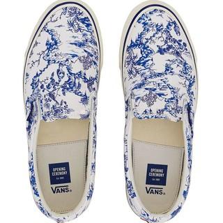 VANS 范斯 Toile Pack 中性款休闲帆布鞋 (红色、38)