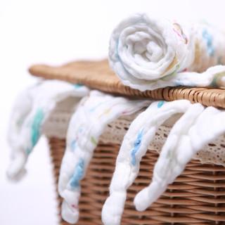 喜亲宝 婴儿6层纱布口水巾 (6条装)