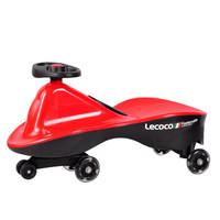 乐卡(Lecoco)儿童扭扭车 火影红