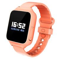 小寻 彩屏版 儿童智能手表 粉橙色