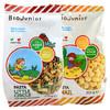 碧欧奇(Biojunior)意大利进口婴幼儿小麦无盐+蔬菜无盐组合宝宝面条400g(10个月以上)小蜗牛+小圆圈