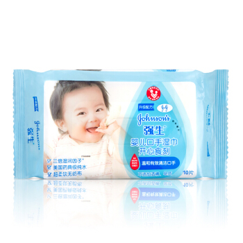 Johnson's baby 强生婴儿 手口湿巾 (10片)