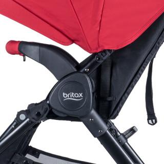 Britax 宝得适 高景观可折叠婴儿推车 热情红