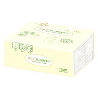 RUNBEN 润本 婴儿纯棉柔巾 (100抽×6包)