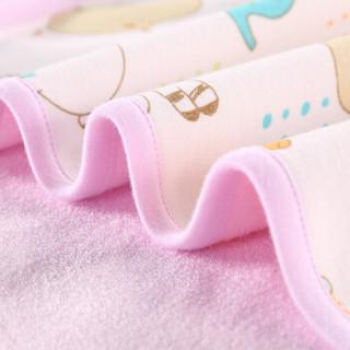 贝吻 B2038 婴儿隔尿垫 粉色 50CM*70CM(中号)