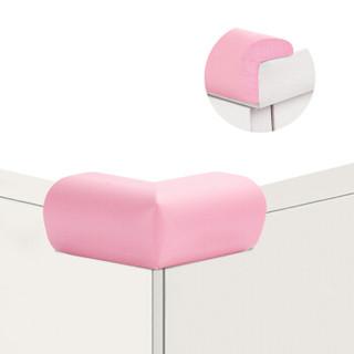 蔓葆宝宝防撞角 安全防护角婴儿桌椅子包角加厚防撞角8个装 粉色