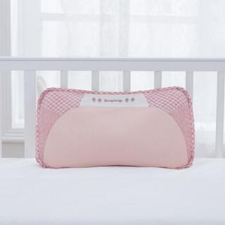 贝谷贝谷 婴儿枕头定型枕新生儿纠正偏头扁头0-3岁四季宝宝睡枕 粉色