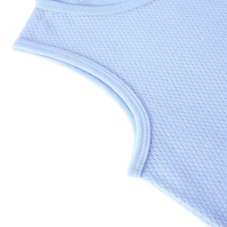 PurCotton 全棉时代 2000218901 男童网眼提花背心套装 110/56(建议4-5岁) 宝贝蓝
