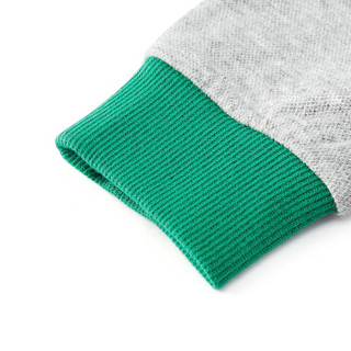 PurCotton 全棉时代 2000242001 幼儿男款针织套头卫衣 90/52(建议2-3岁) 绿色