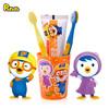 韩国啵乐乐(Pororo) 儿童牙膏牙刷套装 (牙膏*1+牙刷*2+漱口杯*1)3-12岁适用  进口牙膏 儿童牙膏