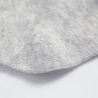 米乐鱼 婴儿袜子儿童宝宝中长棉袜新生儿棉袜5双装粉3-5岁