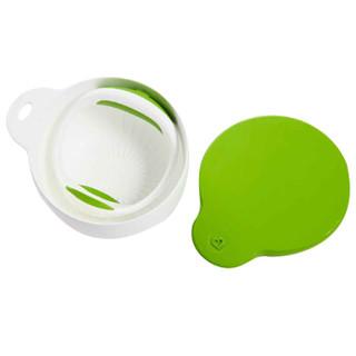 满趣健(Munchkin)宝宝餐具 婴幼儿童辅食碗 新生儿防摔带盖食物研磨碗 44101