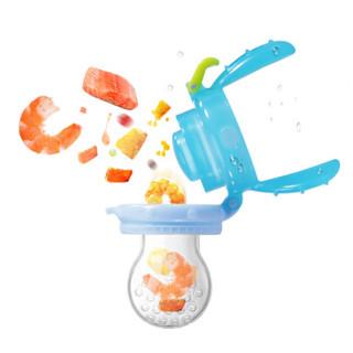 亲亲我(kidsme)宝宝果蔬咬咬乐套装婴儿水果辅食器宝宝果蔬乐咬咬袋喂食工具