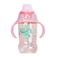 小土豆吸管杯婴儿学饮杯ppsu鸭嘴杯带手柄重力球宝宝水杯300ml