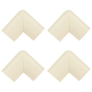 蔓葆宝宝防撞角 安全防护角婴儿桌椅子包角加厚防撞角8个装 白色