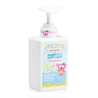 JACK N' JILL 婴幼儿泡泡洗发沐浴露 甜蜜款 (300ml)