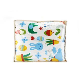 全棉时代 幼儿园床用纱布夹纯棉被子120*150cm 蓝狗兔 1件/袋