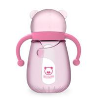 贝适邦  奶瓶婴儿仿真奶嘴宽口径奶瓶 蜜桃粉240ML *8件