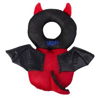 美国MDB婴儿防摔头部保护垫宝宝透气防摔枕儿童学步走路护头枕 黑色小怪兽