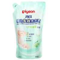 pigeon 贝亲 婴儿多效洗衣液 柠檬草香 1L *5件 +凑单品