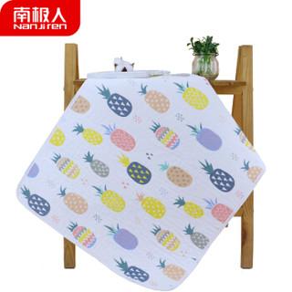 南极人(Nanjiren) 纱布隔尿垫透气新生儿童用品宝宝可洗护理垫婴儿防水防漏床垫小孩坐垫 姨妈垫 菠萝