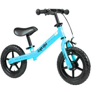 途锐达(TOPRIGHT)儿童平衡滑步车 学步滑行童车 小孩溜溜车学步车 无脚踏自行车  儿童玩具 12寸 蓝色