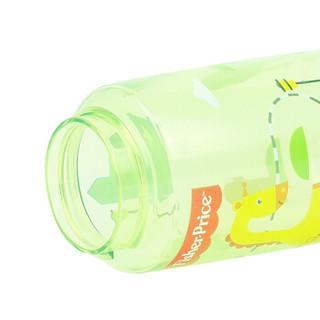 美国费雪儿童吸管杯 男女宝宝水杯 Tritan材质夏季户外防漏便携式手提杯 450ML 绿色