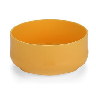 柳濑 婴儿辅食碗 儿童碗 儿童餐具 新生儿宝宝饭碗套装日本进口可微波炉加热辅食碗 LB7518黄色