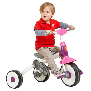 荟智 HSR201-L151 儿童三轮脚踏车 星河紫