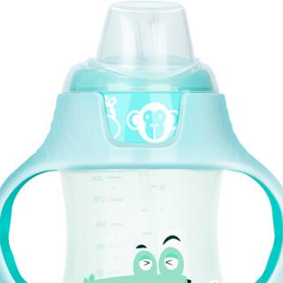 小土豆  婴儿学饮杯儿童水杯新生儿鸭嘴杯带手柄重力球宝宝水杯 300ml