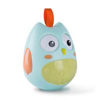 路途乐 婴儿不倒翁玩具大号3-6-12个月宝宝0-1岁早教启蒙点头娃娃  晨雾绿