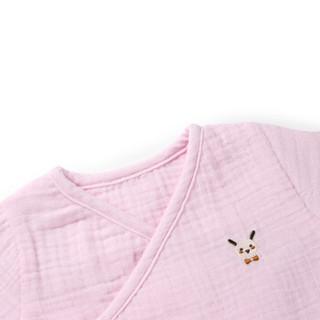 全棉时代 婴儿组合装 小鸟星星抱被+长款和袍+浴巾+面巾+手帕2条 6件/袋