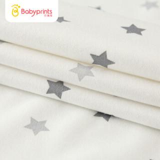 Babyprints婴儿隔尿垫可洗新生儿用品防水透气宝宝隔尿垫巾防尿垫大号1条装白色
