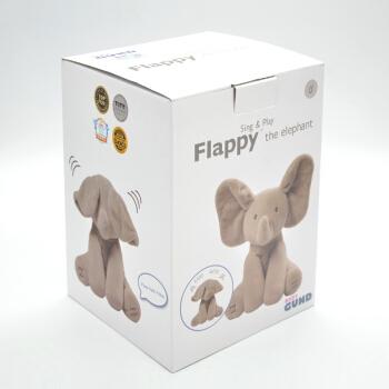 BABY GUND 菲比小象 毛绒玩具