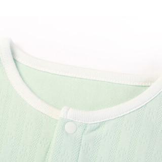 PurCotton 全棉时代 2000088401 婴儿针织提花妙妙衣 59/44(建议0-3个月) 薄荷绿