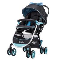 GRACO 葛莱 6BU98CDXN 避震高景观婴儿推车 蓝色