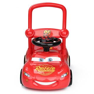 迪士尼(Disney) 闪电麦昆学步车 儿童学步手推车 宝宝助步车带音乐可调速