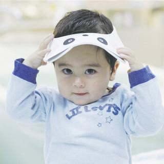马博士(DOCTOR MA)婴儿洗头帽 儿童感温加厚可调节护耳洗发帽宝宝浴帽 熊猫款