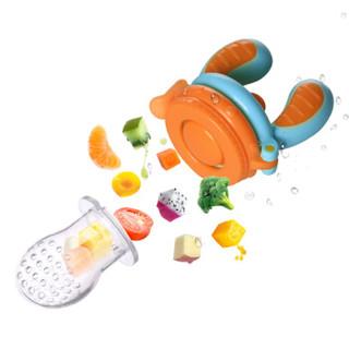 亲亲我 (kidsme)宝宝咬咬乐训练成长套装婴儿水果辅食器宝宝果蔬乐咬咬袋喂食工具