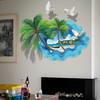 3D立体墙贴画创意简约沙发背景墙面装饰墙贴宿舍布置墙纸自粘防水 17.8元