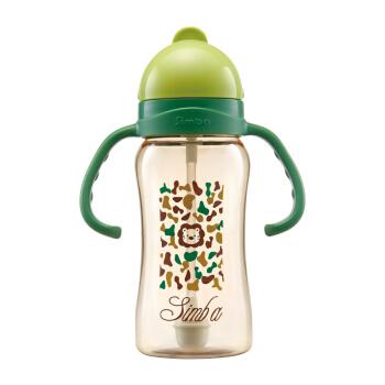 Simba 小狮王辛巴 S8602 PPSU儿童吸管杯 绿色 240ml